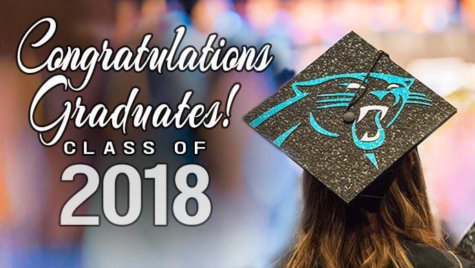 Congratulations Graduates! Class of 2018 (slide has no link)