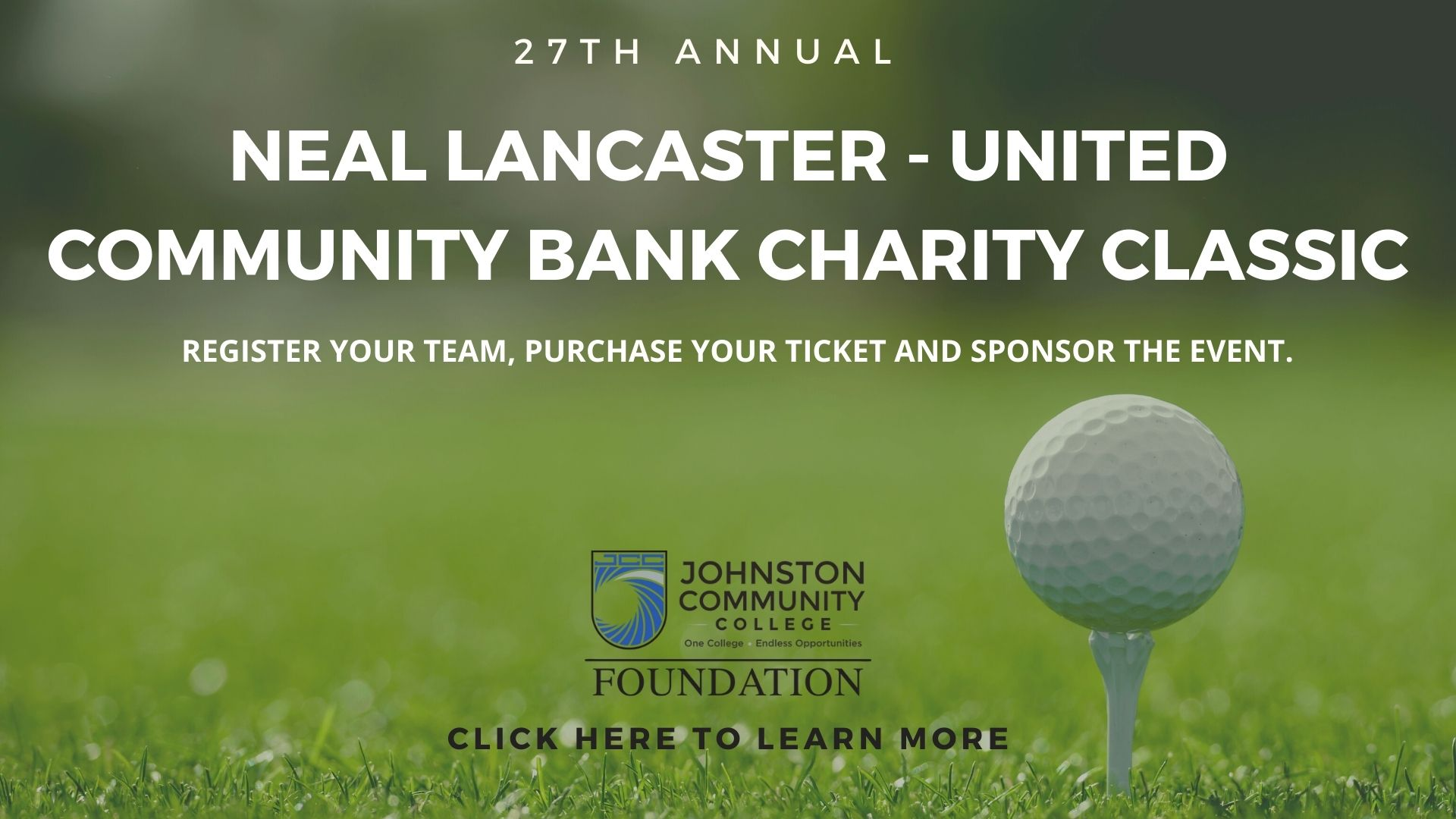 Neal Lancaster - United Community Bank Charity Classic