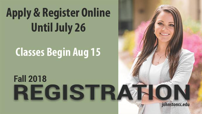 Apply & Register Online until July 26. Classes Begin Aug 15. Fall 2018 Registration