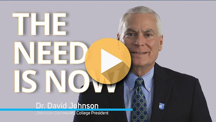 """""""The Need is Now"""" is an informational video detailing the current facility needs of  Johnston County Public Schools and Johnston Community College."""