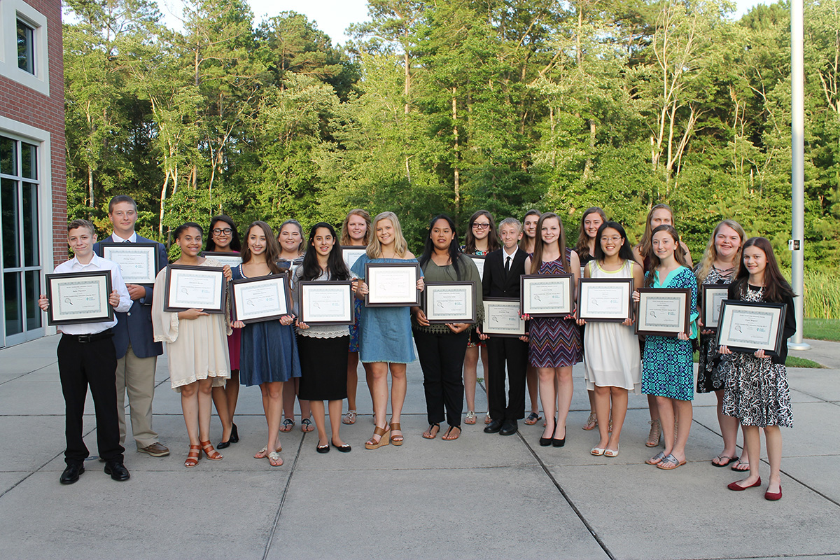 20 high school students graduated from Junior Leadership Johnston.