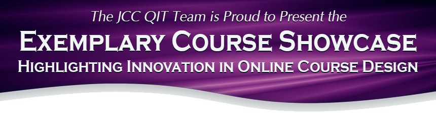 Exemplary Course Showcase banner