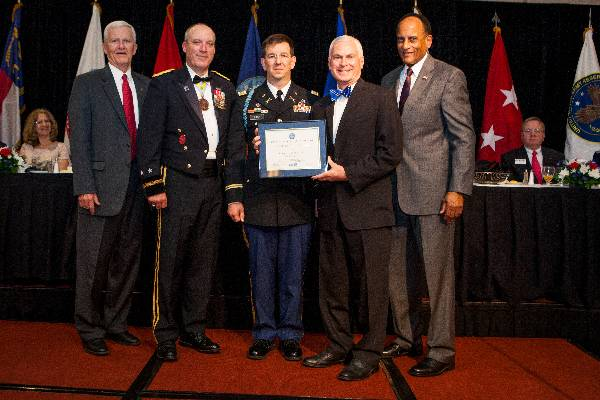 College recognized for support of military employees.