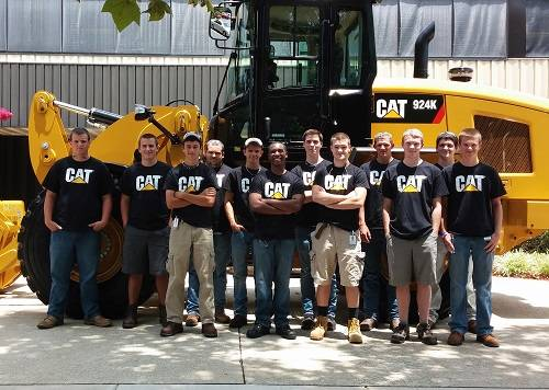 Caterpillar Pre-Apprenticeship Students