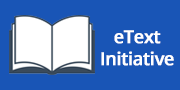 eText Iniative - Click here to Learn more about this iniative