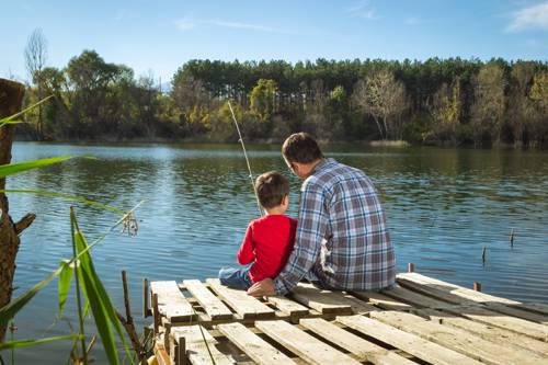 Fishing for Stocked fishing ponds