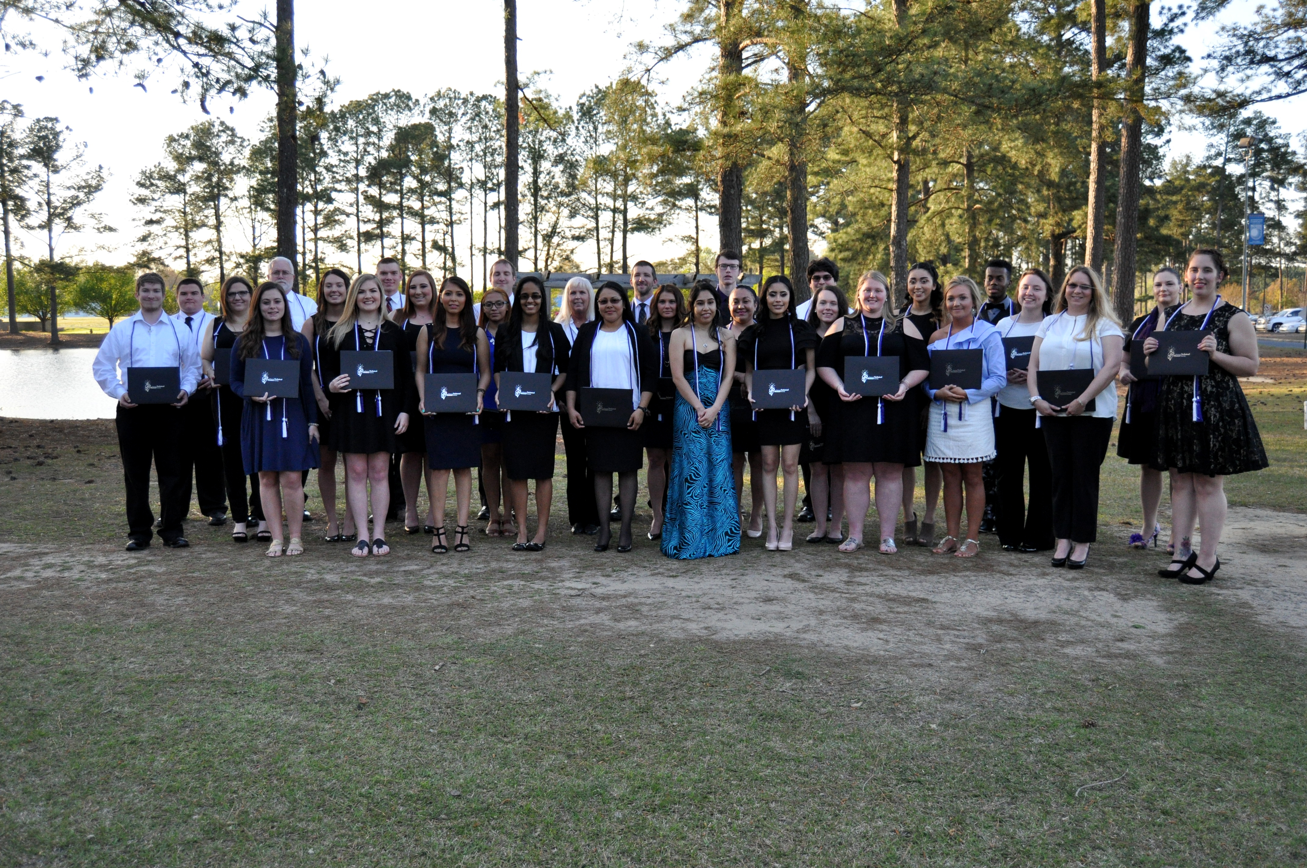 46 students were inducted into the National Technical Honor Society at JCC for 2017-18.
