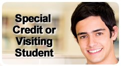 Special credit student button