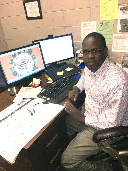 Photo of Nicholas Ogada, Business Administration Instructor at Johnston Community College